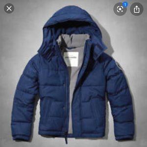 Abercrombie  boys puffer jacket